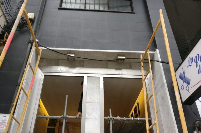 Reforma de portal en calle San Fernando