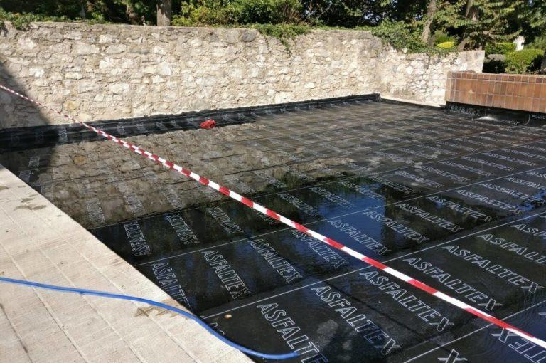 Impermeabilización de terraza en El Sardinero