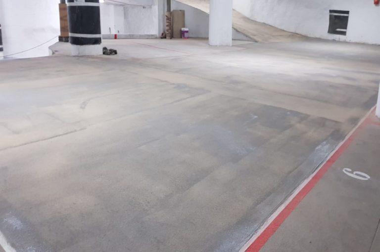 Rehabilitación garaje Miguel Artigas